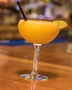 Mango Margarita at Smoke on the Water BBQ in Elkins, WV