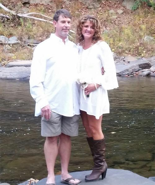 Jon and wife Denise